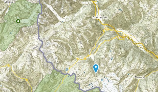 Courmayeur, Aosta Valley Map