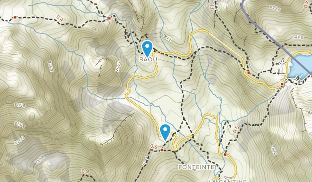 Saint-Rhémy-En-Bosses, Aosta Valley Map