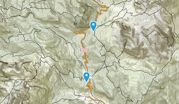Zoldo Alto, Belluno Map