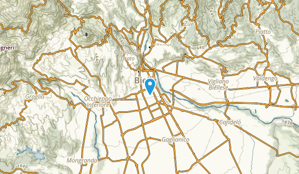 Biella, Biella Map