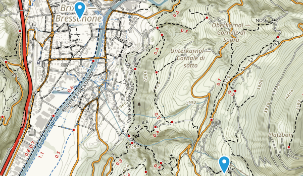 Bressanone, Bolzano/Bozen Map