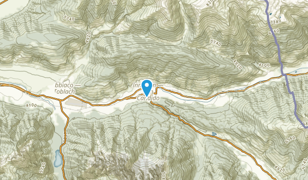 San Candido - Innichen, Bolzano/Bozen Map