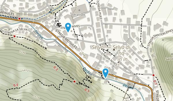 Selva di Valgardena, Bolzano/Bozen Map