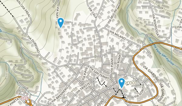 Borno, Brescia Map