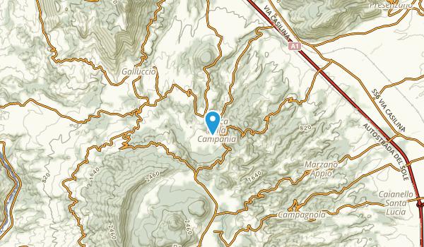 Conca Della Campania, Caserta Map