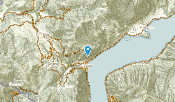 Pigra, Como Map