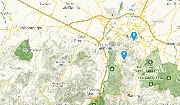 Monte San Pietro, Emilia-Romagna Map