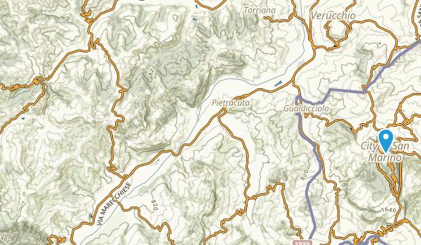 Sogliano Al Rubicone, Forli-Cesena Map