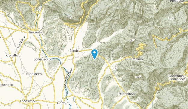 Nimis, Friuli-Venezia Giulia Map
