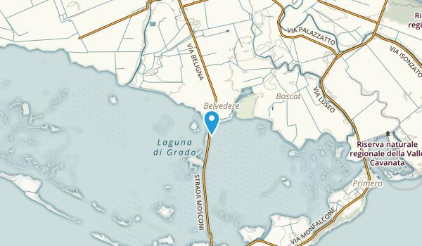 Grado, Gorizia Map