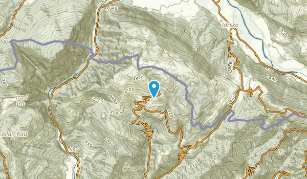 Savogna, Kobarid Map