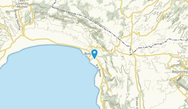 Bolsena, Lazio Map