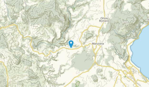 Canale Monterano, Lazio Map