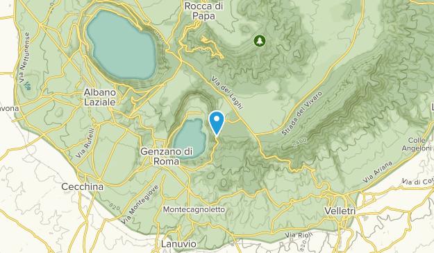 Nemi, Lazio Map