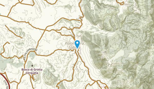 Palombara Sabina, Lazio Map