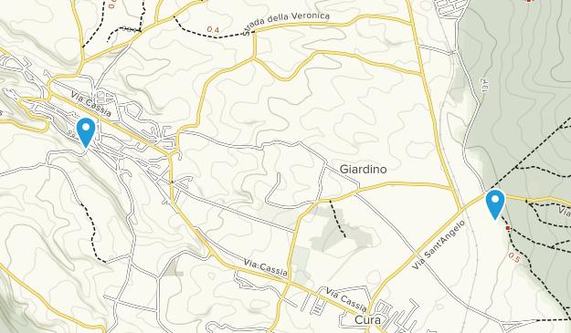 Vetralla, Lazio Map