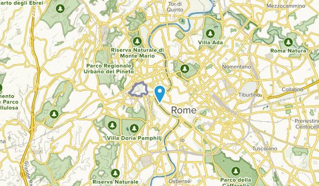 Via del Corso, Lazio Map