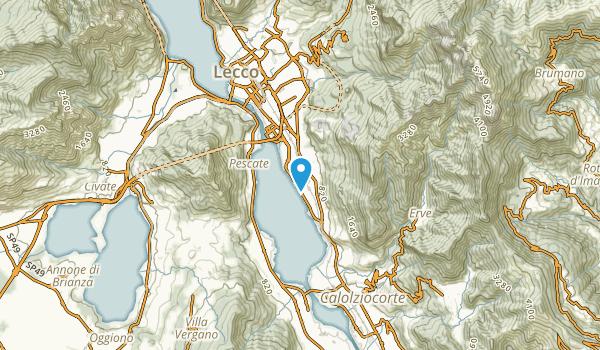 Pescate, Lecco Map