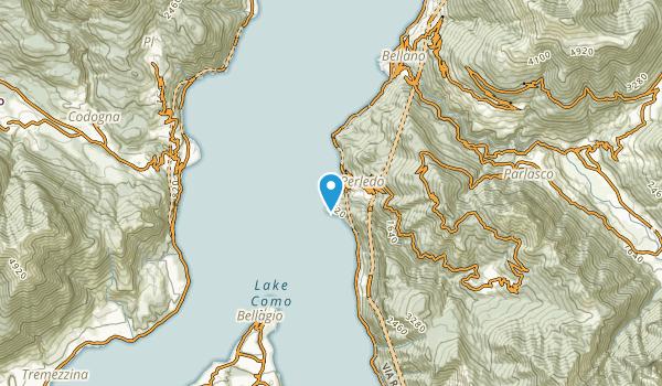 Varenna, Lecco Map