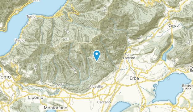 Erba, Lombardy Map