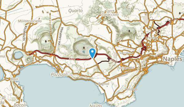 Agnano Terme, Napoli Map