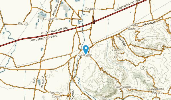 Casteggio, Pavia Map