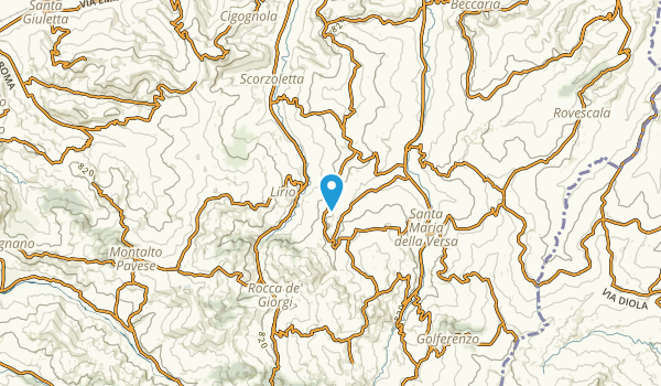 Tromba, Pavia Map