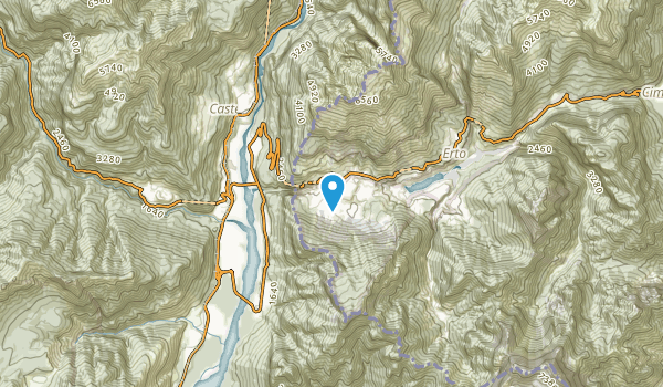 Casso, Pordenone Map