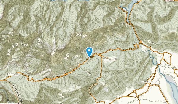 Frisanco, Pordenone Map