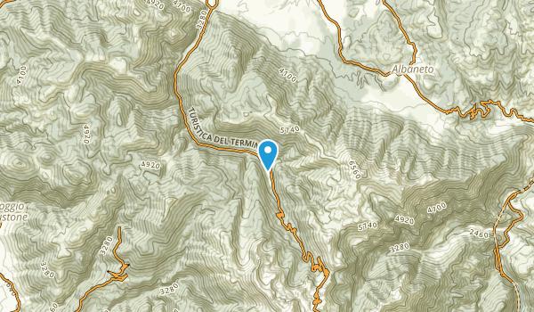 Piedelpoggio, Rieti Map