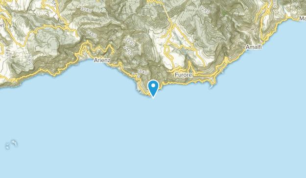 Praiano, Salerno Map
