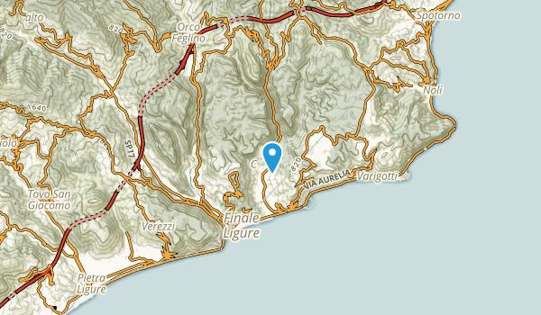 Finale Ligure, Savona Map