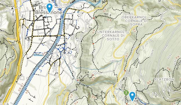 Bressanone, Trentino-South Tyrol Map