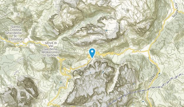 Discarica d'Inerti, Trentino-South Tyrol Map