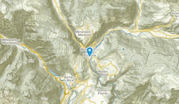Pusteria, Trentino-South Tyrol Map