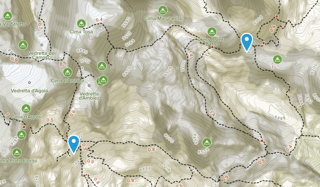 San Lorenzo Dorsino, Trentino-South Tyrol Map