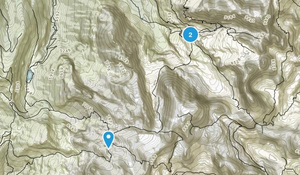 Casetti, Trento Map
