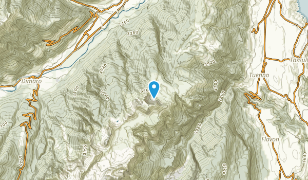 Magras, Trento Map