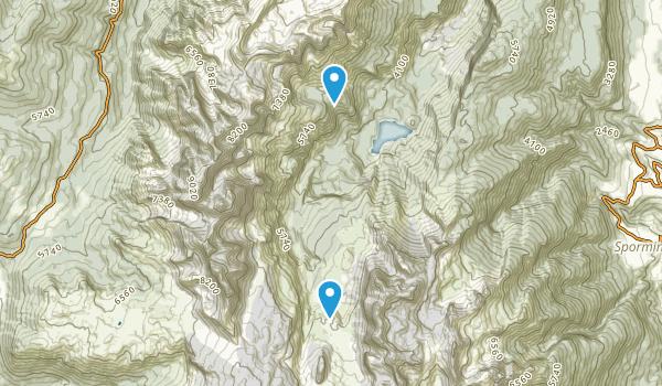 Tovel, Trento Map
