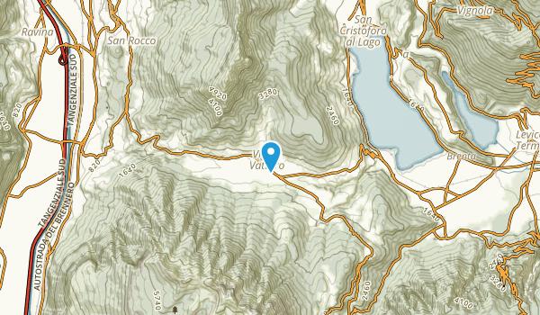 Vigolo Vattaro, Trento Map
