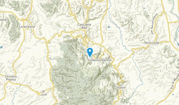 Casciana Terme Lari, Tuscany Map