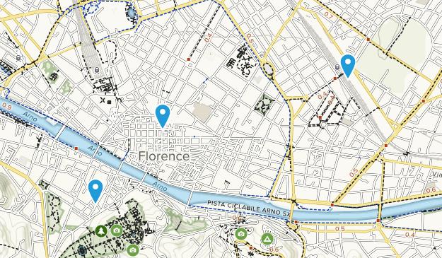Best Trails Near Firenze Tuscany Italy Alltrails
