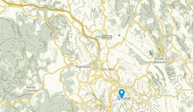 Tuscany Map Of Italy.Best Trails Near Monteriggioni Tuscany Italy Alltrails