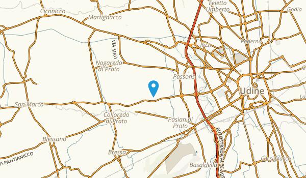 Pasian Di Prato, Udine Map