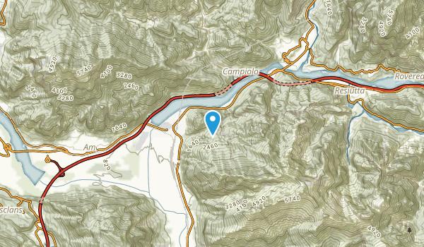 Piani, Udine Map