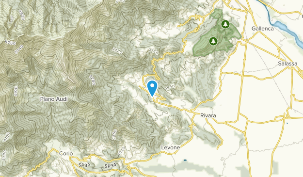 Forno Canavese, Umbria Map