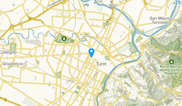 Turin, Umbria Map