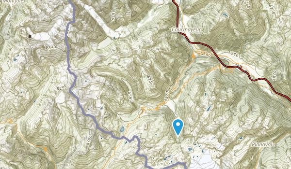 Courmayeur, Valle D'Aosta Map