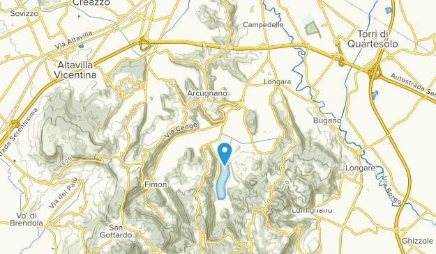 Arcugnano, Veneto Map