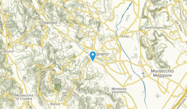 Arzignano, Veneto Map
